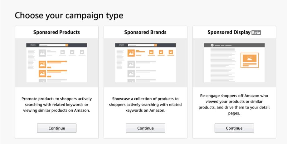 Tipologie di campagne su Amazon